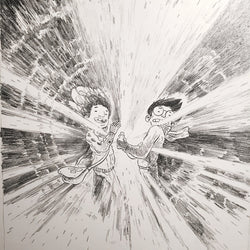 Original Artwork from This Was Our Pact (Ch. 6, pg. 55)