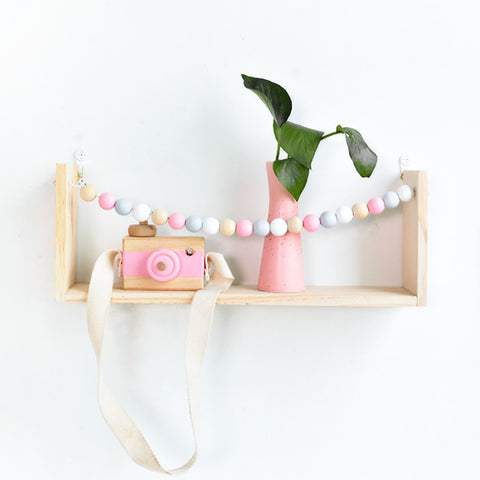 #211 Wooden Display Shelf/ Wall decoration