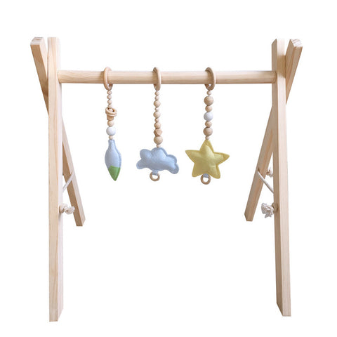 Nature - Wooden Baby Gym HANDMADE - Mini Me Ltd
