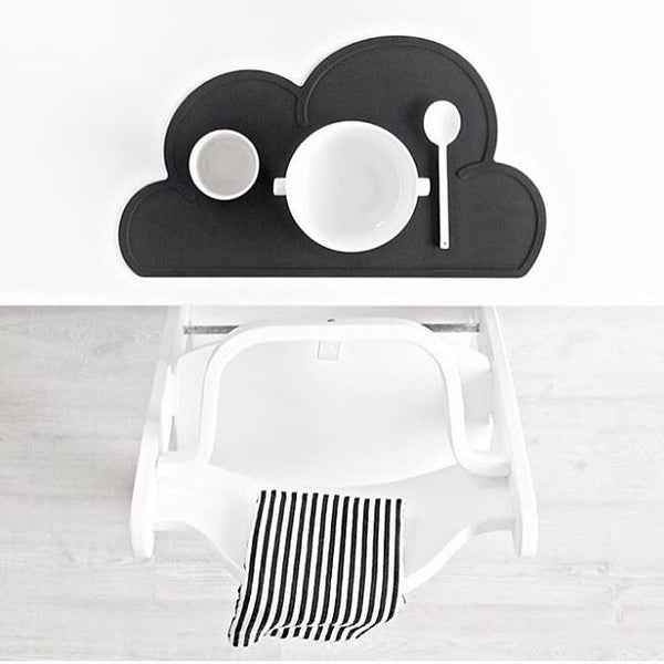 Silicone Cloud Shaped Kids Tableware - Mini Me Ltd