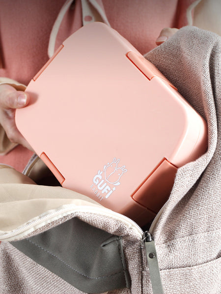 PRE ORDER - Leak Proof Gufi Lunch Box [Pink]