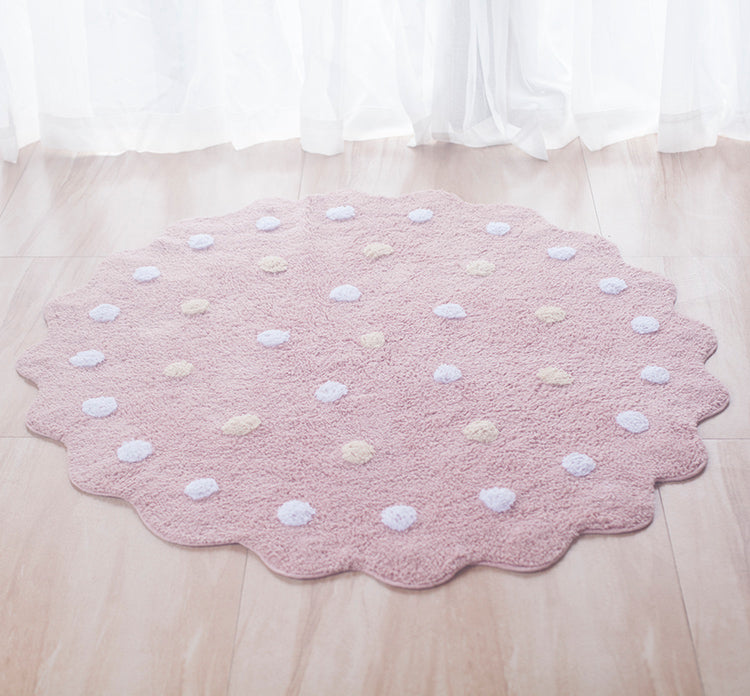Cozy Round Cookie Rug - Mini Me Ltd