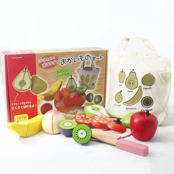 Japanese Wooden Fruit Toys - Mini Me Ltd