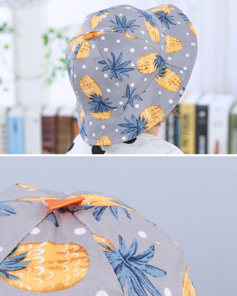 Pineapple Kids Hat (6m-18m) - Mini Me Ltd