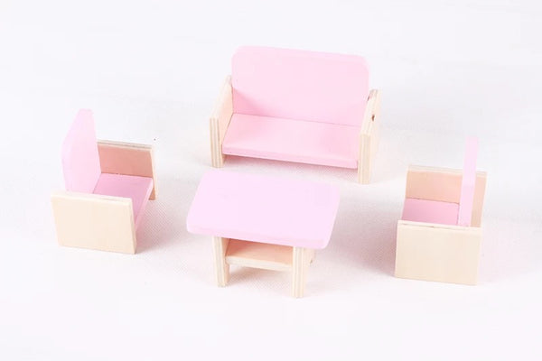 Doll House Furniture Full House Set - Mini Me Ltd