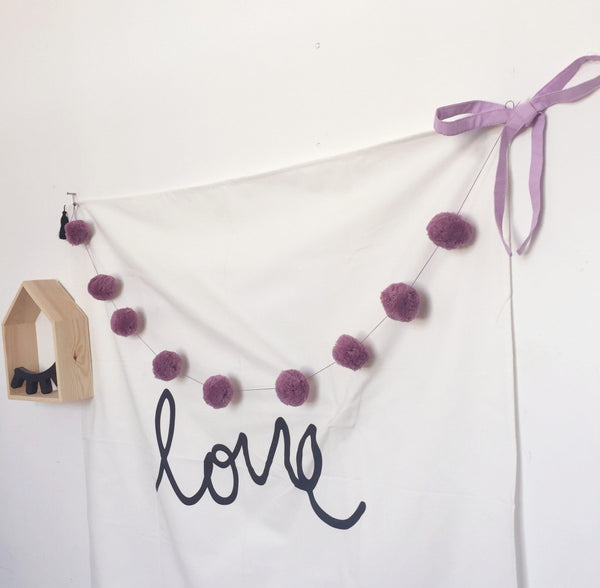 Pom-Pom Garland Room Decoration - Mini Me Ltd