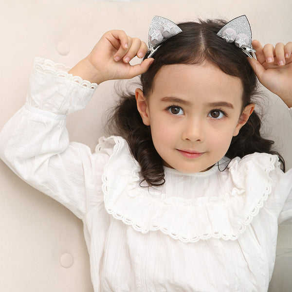 Cat Ears Hair Clips (1 Pair) - Mini Me Ltd