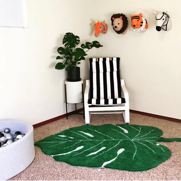 Giant Leaf Rug - Mini Me Ltd