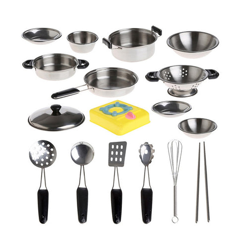 21 Mini Stainless Tableware-Kitchen Suit - Mini Me Ltd