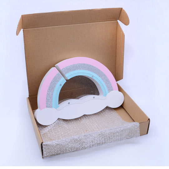 Rainbow Penny Bank / Home Decoration - Mini Me Ltd