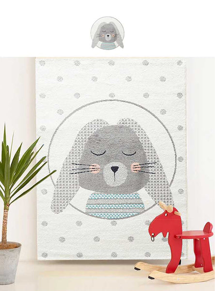 Soft Rabbit Rug