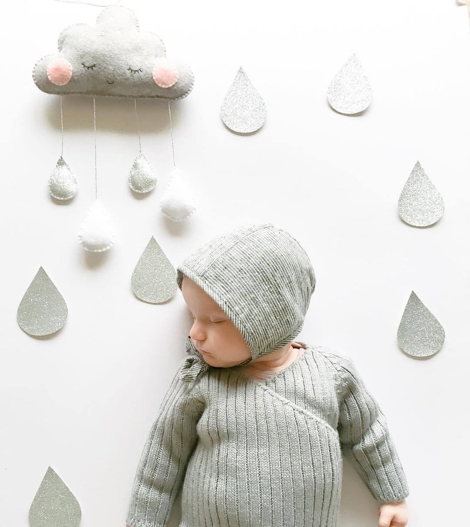 Cloud with Rain Drop Room Decoration - Mini Me Ltd