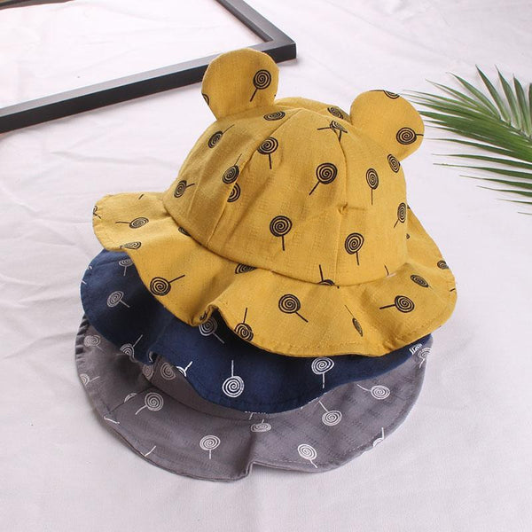 Bear Shape Kids Hat (1Y-3Y) - Mini Me Ltd