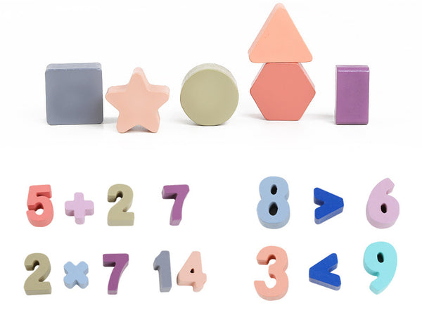 Numbers & Shapes Learning Education Toy - Mini Me Ltd