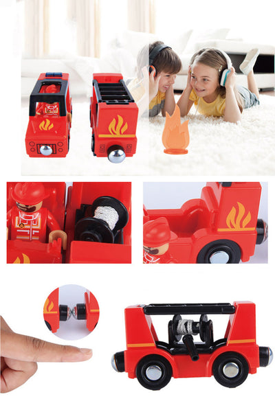 Cute Fire Truck - Mini Me Ltd