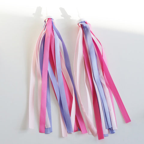 Rainbow Scooter Tassels  / Ribbons