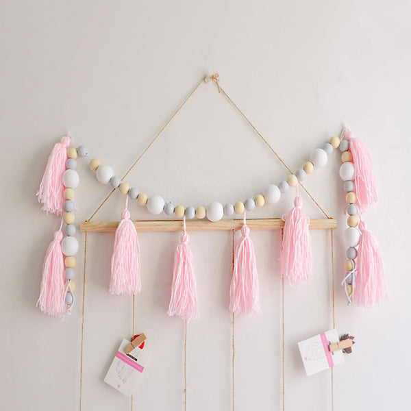 Wooden Beaded Room Decoration - Mini Me Ltd