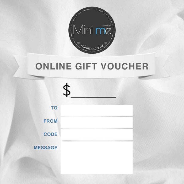 Mini Me Gift Voucher - Mini Me Ltd