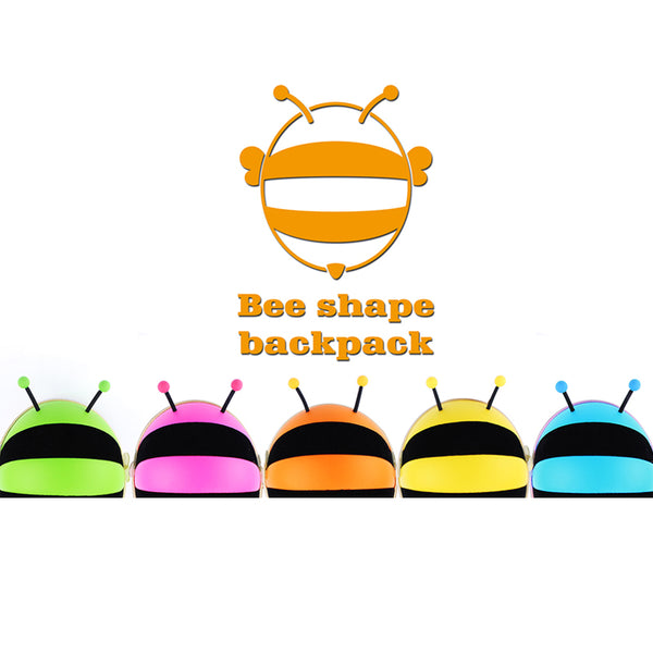 Supercute Bee Shape Backpack-Orange - Mini Me Ltd