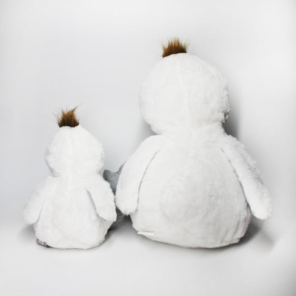 2 Europe Cuddly Duck Toys - Mini Me Ltd