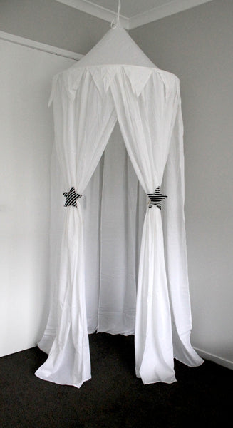 Luxury Mini Me Canopy - White - Mini Me Ltd