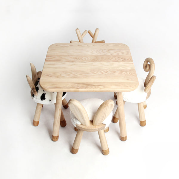 Rabbit-Handmade High Quality Wooden Chair - Mini Me Ltd