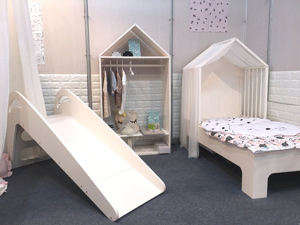 Wooden Toddler Bed house bed+Mattress Set - Mini Me Ltd