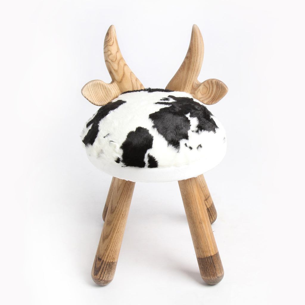 Little Cow Handmade Wooden Kids Chair   Mini Me Ltd