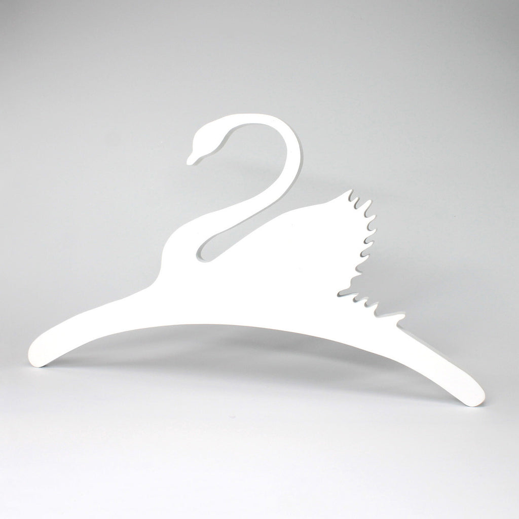 Wooden Swan Clothes Hanger For Baby & Kids Coat Clothes Hangers - Mini Me Ltd