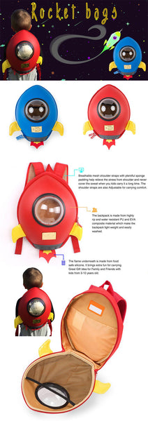 Supercute Rocket Backpack - Mini Me Ltd