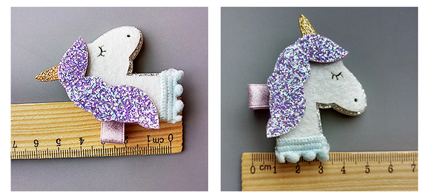Unicorn Hair Clip - Mini Me Ltd