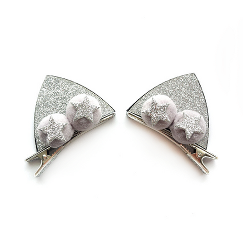 Cat Ear Hair Clips - Mini Me Ltd