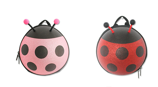 Mini Shining Ladybug Backpack-Pink - Mini Me Ltd