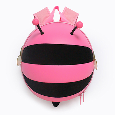 Supercute Bee Shape Backpack-Pink - Mini Me Ltd