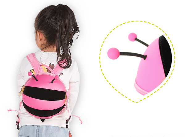 Mini Bumble Bee Backpack with Strap / harness - Mini Me Ltd