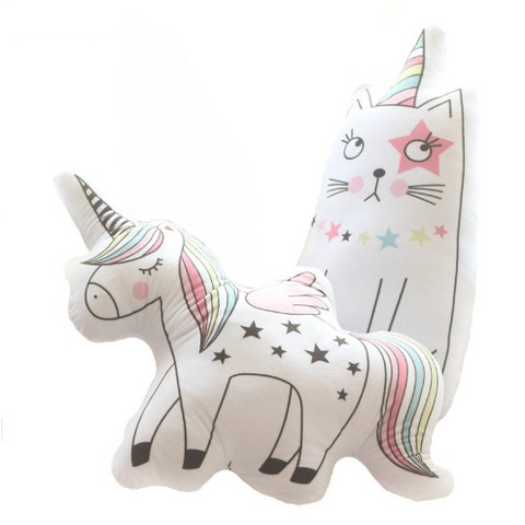 Unicorn/Cat Cushion - Mini Me Ltd