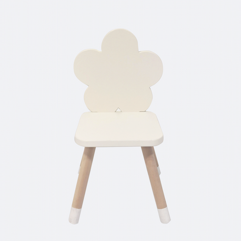 NEW Wooden Flower Chair - Mini Me Ltd