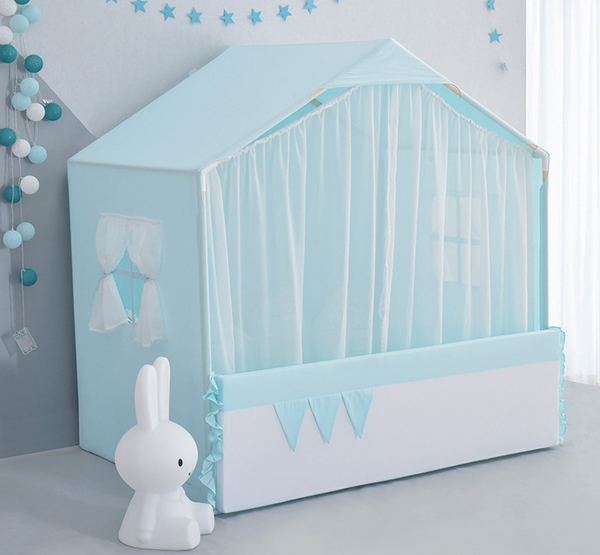 GREEN  Little Dove Kids Indoor playhouse /Floor bed - Mini Me Ltd