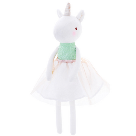Unicorn Doll -Grass Green - Mini Me Ltd