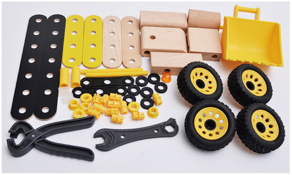DIY Wooden Digger - Mini Me Ltd