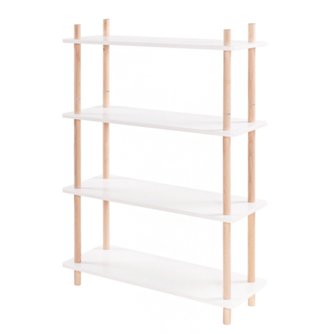 Nordic Bookcase Shelves - Mini Me Ltd