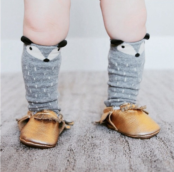 Fox Toddler Socks - Mini Me Ltd