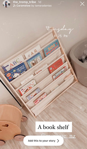 EXTRA WIDE 6 Level ii Wooden Book Shelf