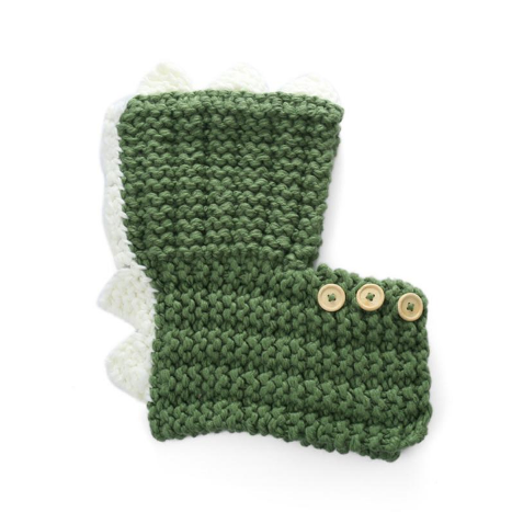 Dinosaur Kids Knitted Hat (2Y-6Y) - Mini Me Ltd
