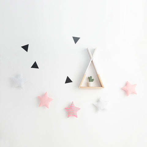 Cotton Stars Wall hanging Garland - Mini Me Ltd
