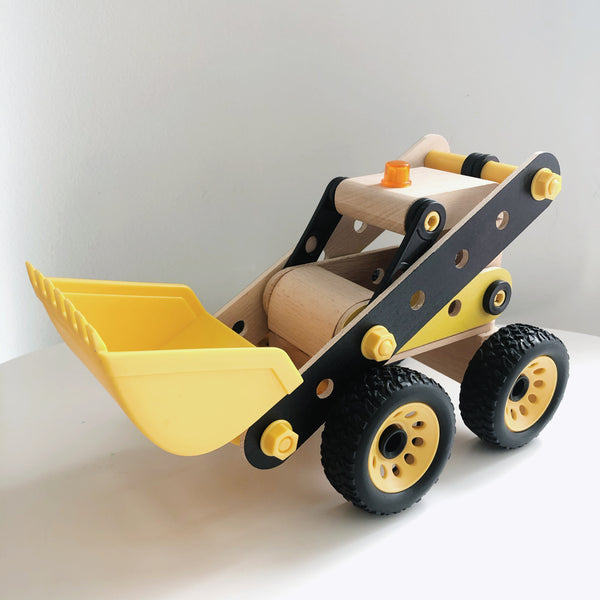 DIY 3D Wooden Puzzle Digger - Mini Me Ltd