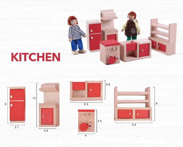 Dolls house furniture - 6 Sets to choose - Mini Me Ltd