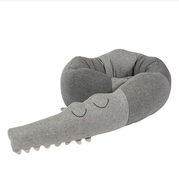 Crocodile Baby Cot Bumper/ room decoration - Mini Me Ltd