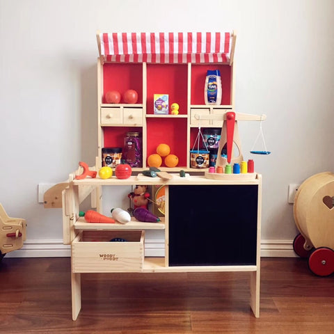 Wooden Grocery Shop-Beluga / Little Supermarket - Mini Me Ltd