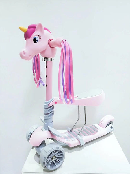 Scootaheadz Unicorn-Pink